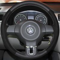Handicrafts 6 vw polo bora free jettas sew-on santana steering wheel cover suede