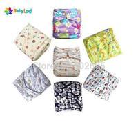 50 pcs Babyland Diapers +50 pcs wet bags with handle and zipper + 50 pcs Microfiber inserts