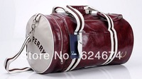 Free Shipping 2013 New Fashion Casual Barrel Sports Bag Shoulder Messenger Bag Cylinder Gym Totes,Men's Duffle Bag