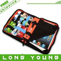 For ipad  mini storage bag tablet bag data cable bag digital bubm storage bag,free shipping