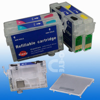 For EPSO N SX515W SX600FW SX610FW B40W BX600FW BX610FW refillable ink cartridge T0711 T0712 T0713 T0714