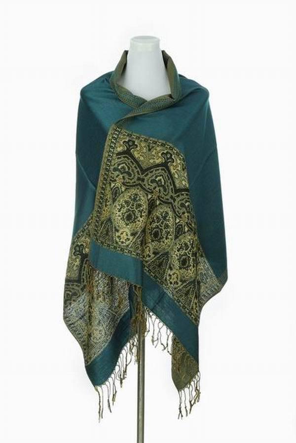 Online kopen wholesale groene paisley sjaal uit china groene paisley sjaal groothandel - Groene warme of koude kleur ...