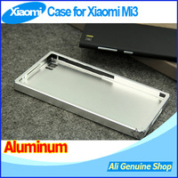 New Arrival! Back Case For Xiaomi m3,Xiaomi mi3 3 Aluminum Case Waterproofed case + screen protector, Free shipping