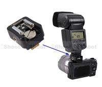 Universal Hot Shoe Mount Adapter for Canon Speedlite Flash 600EX/580EX 430EX II/550EX Used on Sony NEX-C3/3C/3N/5C/5N/5T Camera