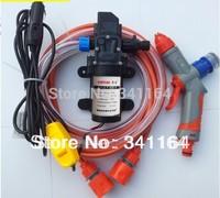 Car electric 60w high pressure washing device washing machine portable high pressure car wash pump 12v trainborn set 106c220