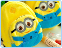 Kawaii NEW Design Coin BAG - 12PCS Despicable ME Coin Purse Wallet Pouch BAG ; Key Hook Phone BAG Case Pouch Wallet