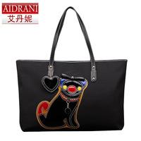 Fashion shopping bag hemp bag oversized bags dog fashion bag leather