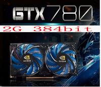 High quality top gtx780 2g independent computer graphics card 2048mb gtx680 Graphics Cards