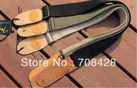 F1 2pcs/lot free shipping Classic Vintage Acoustic Electric Guitar Strap hot sale