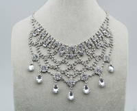 Sunshine jewelry store bohemia vintage crystal design necklace, party necklace , Ocean Wedding jewelry MZN065