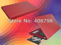 14.1 inch Laptop+Windows XP/7+2GB RAM+320GB HDD+Intel Celeron 1037U Dual Core 1.8GHz+Wifi+Built-in DVD-RW Notebook PC