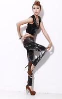 2014 New Spring Autumn Women Jeans Pencil Elasticity Skinny Printing Brand Wid Slim XL Trousers Denim Overalls Sexy Graffiti