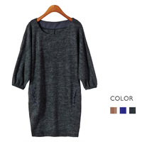 Cashmere blended fabric super soft batwing sleeve o-neck short-sleeve sweater plus size clothing 0.23