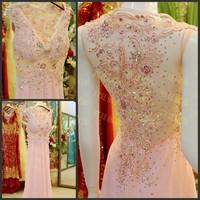 2014 luxury crystal bride dress formal dress evening dress pink red yellow blue