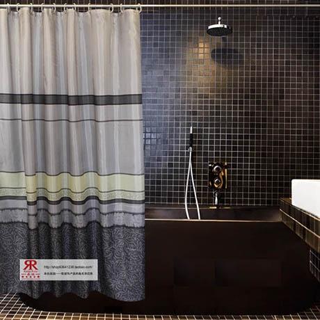 Cortina de chuveiro cortina de chuveiro Moda sedas e cetins impermeável qualidade elegante terylene alta qualidade ramarose eco -friendly(China (Mainland))