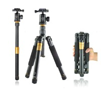 Best New Q-999 SLR Camera Tripod Monopod & Ball Head Portable Compact Travel