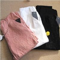 S~XXXL New 2014 pantalon women plus size lace casual pants long trousers capris stretch pencil pants