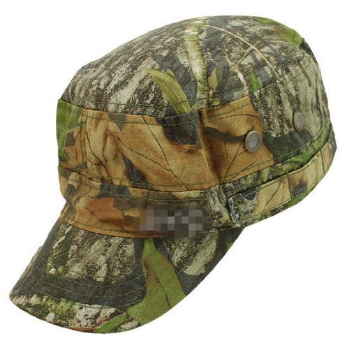 Military hunting cap Outdoor Camouflage Hunting Hat Fishing hiking cap bionic cap Camouflage baseball cap 1pc(China (Mainland))