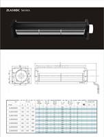 A50250-A50420DCcross flow fan/crossflowfan/draught fan/ventilation fan