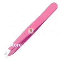 light eyelash eyebrow hair removal  womens Pink  stainless eyebrow tweezers lights/ tweezers for eyebrows