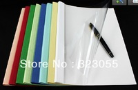 "200 Sheet Thermal Binding Covers A4 Size 210X297MM(8.3""x11.7"") 8MM Thickness  for Thermal Binding Machine Systerm"