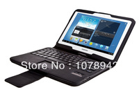 Cover cases for Samsung GALAXY Tab 3 10.1 P5200 detachable touch bluetooth keyboard tablet case