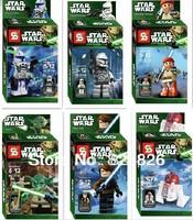 Have original box Free Shipping New Toy Starwars/ Starwars Block/Ninja Toys/Super Hero best quality Building Blocks