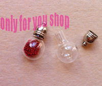 Glass vials pendant magic potion