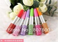Free shipping 50pcs/lot Ballpoint pen,New Fashion lipstick shape ball pen,Creative pen,Advertising pen, Used for Office&Study