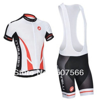 New Arrival Good Quality 2014 Castelli Cycling Jersey(Maillot)+Bib Short(Culot))/Cycle Wear/Quick-dry clothing/Some Sizes