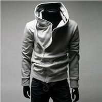 spring 2014 men's clothing hoodies fashion casual swash zipper sweater coat man sportswear hip hop hoodie sports outerwear men