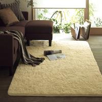 1 fashion water wash shag carpet living room coffee table bedroom carpet 1 1.6 meters