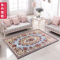Dongsheng carpet series rustic living room coffee table sofa bedroom bed carpet