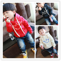 Wholesale 1 lot = 5 pieces HOT! 2014 baby girls clothing long sleeve hoodies children's boy sweatshirts