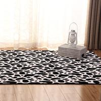 Fashion super soft flannel carpet table mats multifunctional floor mats