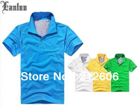 2014 Top Brand High Quality Men's Cotton T-Shirt /Cool Short Sleeve T-Shirt /Brand Shirt for Slim Fit with Different Colors