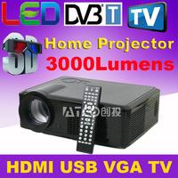 COOLUX S2 High brightness 2000ANSI lumens 1280*800 Full HD Daytime multimedia Portable DLP Mini LED Projectors Real 3D projektor
