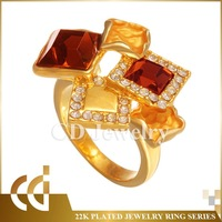 CD Fashion Jewelry Gold Ring For Women China Wholesale