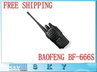 10pcs New 5W 16CH Walkie Talkie UHF BF-666S Interphone Transceiver A0782A Two-Way Radio Mobile Portable Handled