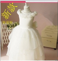 Child piano violin costume female child princess dress flower girl dress costume