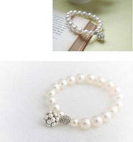$10 free shipping Pearl ball bracelets & bangles lady sweet personality joker bracelets & bangles OL must-have fashion jewelry