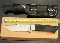 Free shipping John Young Knives with high quality hunting knife, camping knife, AUS - 10 a