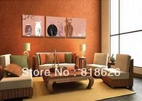 3 Pieces Beautiful Classic Still Life Bedroom Living Room Canvas Wall Hang Picture Modern Printed Painting Art Pt471