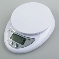 Free Shipping 5kg  5000g/1g  Electronic  Digital Kitchen Food Diet Weight Balance Weighing Scale Weigh