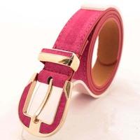 New 2014 hot leather belt for women fashion belt women belt buckle free shipping B100-1