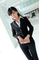 Women's white collar suit blazer autumn and winter long-sleeve black