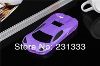 For iphone 5 5g 5s iphone5g Sports Car Racing Slide Flip Stand hard plastic PC case holder cases 5pcs free shipping