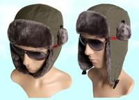 For Men and women winter Cap Bomber Hats ear warmer SANTO for ski hunting fishing outdoor sporting