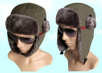 For Men and women winter Cap Bomber Hats ear warmer SANTO for ski hunting fishing outdoor sporting
