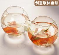 New 2014 Fashion fish tank transparent vase home accessories hydroponic flower crafts large decorative floor vases